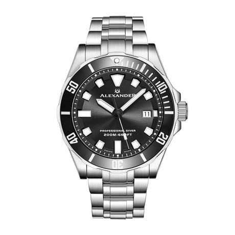 Alexander Watch Vanquish Quartz // A501B-01
