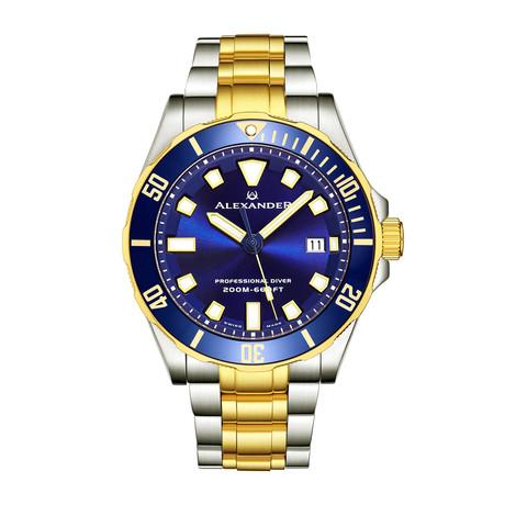 Alexander Watch Vanquish Quartz // A501B-03