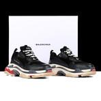 Tripple S Sneakers // Black + Red (Euro: 41)