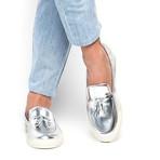 Philippe Mirror Skate // Silver (Euro: 40)