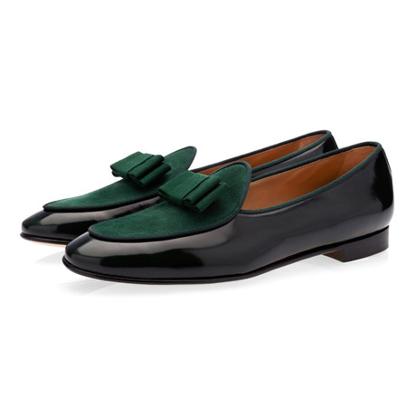 Tangerine III Brushed Belgian Loafers // Green (Euro: 39)