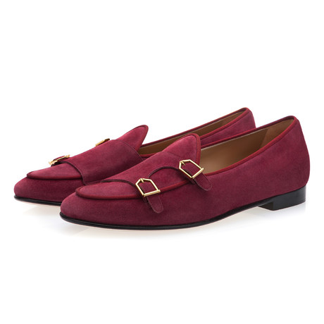 Tangerine 7 Softy Belgian Loafers // Cherry (Euro: 39)