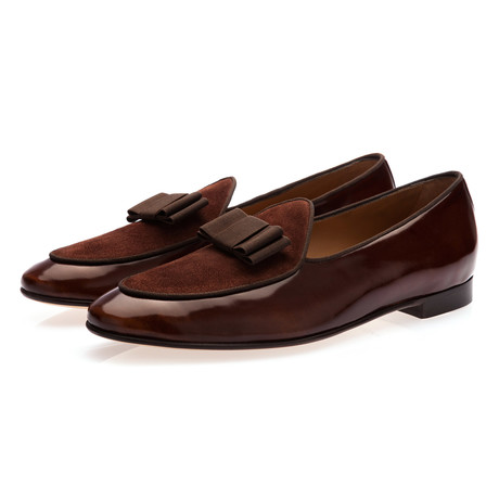 Tangerine 3 Brushed Belgian Loafers // Cocoa (Euro: 39)