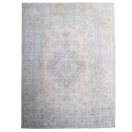 Color Renaissance // Hand Knotted Vintage Persian Rug
