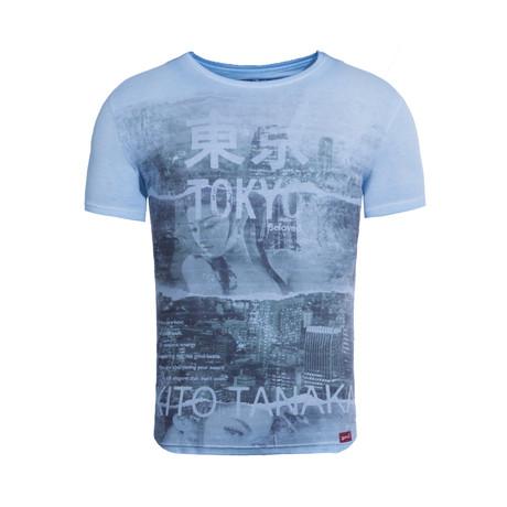 Geisha Beloved T-Shirt // Turquoise (S)