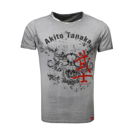 Skull Eagle T-Shirt // Anthracite (S)