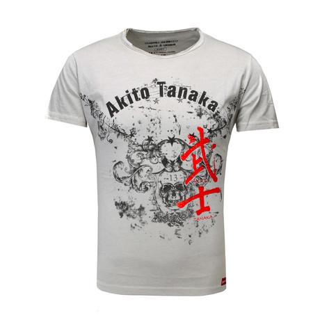 Skull Eagle T-Shirt // Off-White (S)