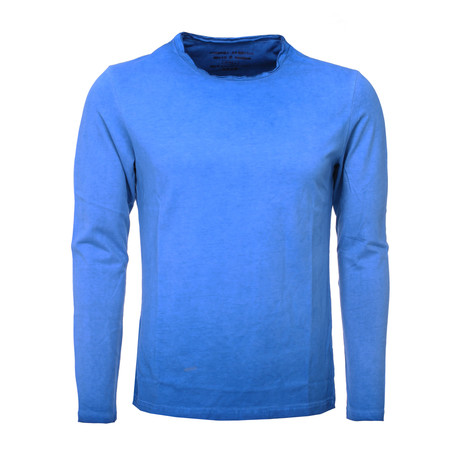Longsleeve Oil Wash // Blue (S)