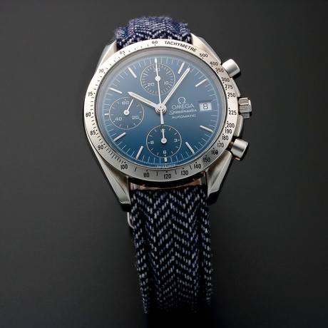 Omega Speedmaster Date Chronograph Automatic // 35183 // Pre-Owned