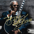 B.B. King // Signed Photo // Custom Frame