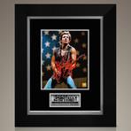 Bruce Springsteen // Signed Photo // Custom Frame