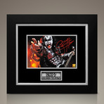 Gene Simmons Signed Photo // Custom Frame
