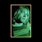 Kurt Cobain // Signed Lyrics // Custom Frame