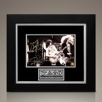 Led Zeppelin // Robert Plant + Jimmy Page Signed Photo // Custom Frame