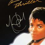 Michael Jackson // Signed Thriller Poster // Custom Frame