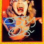 Ozzy Osbourne // Signed Photo // Custom Frame