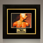Tupac // Signed Photo // Custom Frame