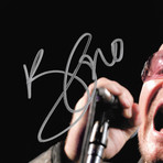 U2 Bono // Signed Photo // Custom Frame