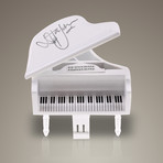 Elton John // Signed Mini Piano // Custom Museum Display (Signed Piano Only)