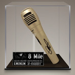 Eminem // Signed Microphone // Custom Museum Display (Signed Microphone Only)