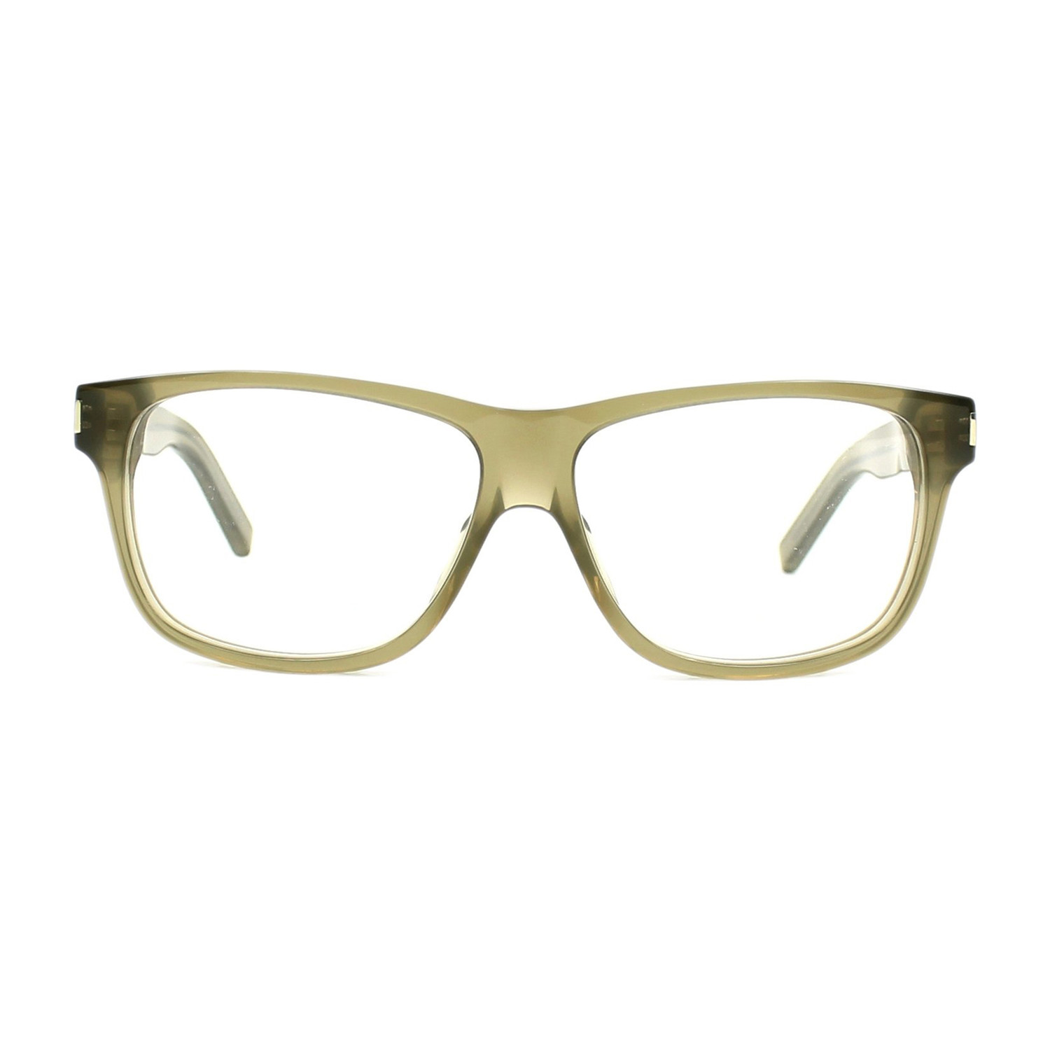 2df182b7c115a 16dc1fe3e017f6ada9008f0e946be8e0 medium. Yves Saint Laurent    Acetate Eyeglass  Frames    Green