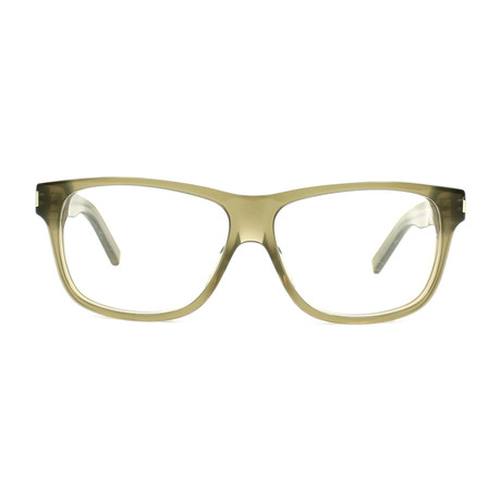 Yves Saint Laurent // Acetate Eyeglass Frames // Green