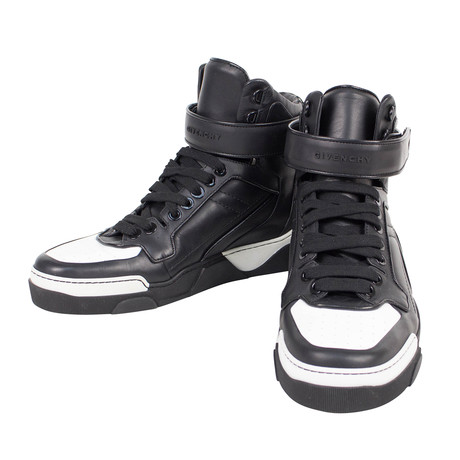 Tyson High-Top Sneakers // Black + White (US: 6)