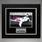 Aretha Franklin // Signed Photo // Custom Frame
