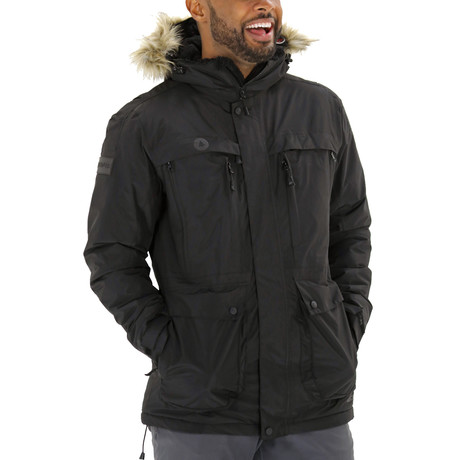 Men's Glacier Parka // Black (L)