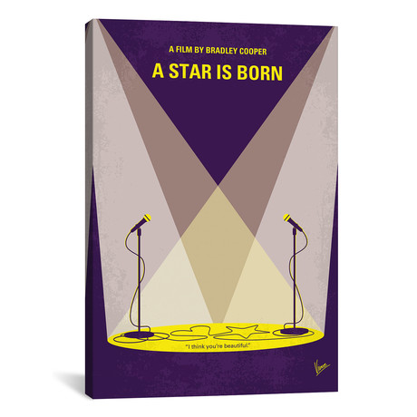 "A Star Is Born (18""W x 26""H x 0.75""D)"