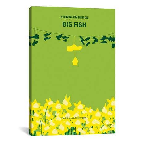 "Big Fish (26""W x 18""H x 0.75""D)"