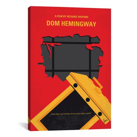 "Dom Hemingway (26""W x 18""H x 0.75""D)"