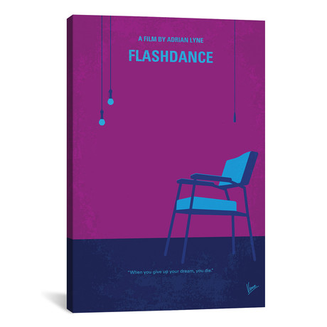 "Flashdance (26""W x 18""H x 0.75""D)"
