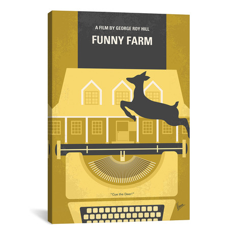 "Funny Farm (26""W x 18""H x 0.75""D)"