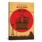 """Isle Of Dogs (26""""W x 18""""H x 0.75""""D)"""