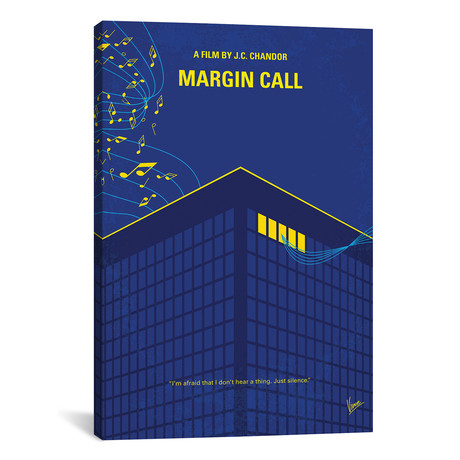 "Margin Call (26""W x 18""H x 0.75""D)"