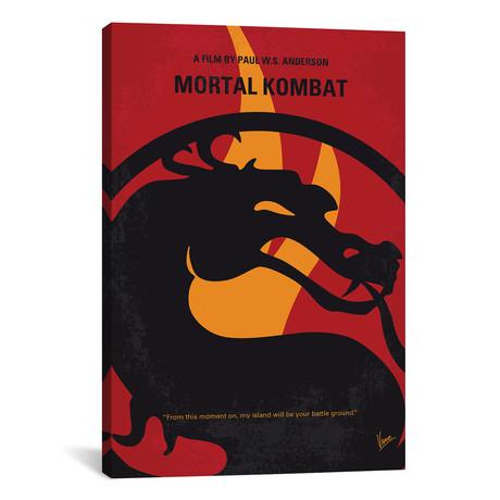 """Mortal Kombat (26""""W x 18""""H x 0.75""""D)"""