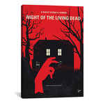 """Night Of The Living Dead (26""""W x 18""""H x 0.75""""D)"""