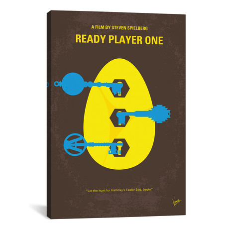 "Ready Player One (26""W x 18""H x 0.75""D)"