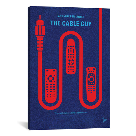 "The Cable Guy (26""W x 18""H x 0.75""D)"