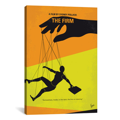 """The Firm (26""""W x 18""""H x 0.75""""D)"""