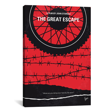 "The Great Escape (26""W x 18""H x 0.75""D)"