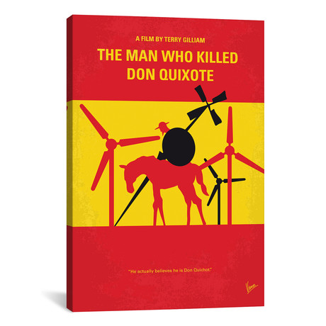 "The Man Who Killed Don Quixote (26""W x 18""H x 0.75""D)"