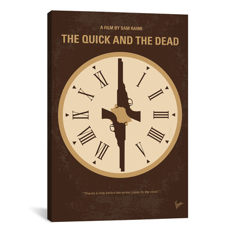 "The Quick And The Dead (26""W x 18""H x 0.75""D)"