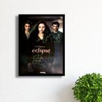 Signed + Framed Poster // Twilight Eclipse