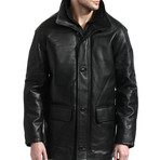 Classic Car Coat // Black (XS)