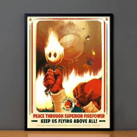 Mario Propaganda // Superior Firepower