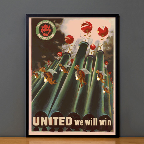 Mario Propaganda // United We Will Win