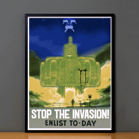 Space Invader // Stop The Invasion