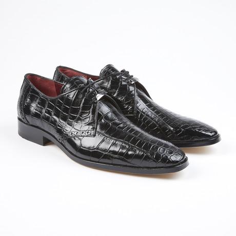 Bravo Alligator Leather Lace-Up // Black (US: 7.5)